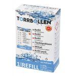 Torrbollen, Kosteudenpoistoaine, Refill, 450g, Valkoinen - 1kpl.